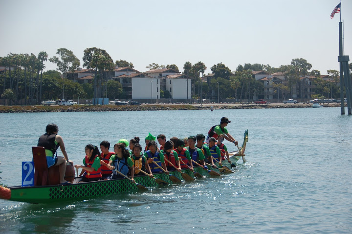 Dragon Boating at BIAC